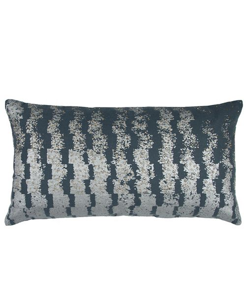 "Rizzy Home Donny Osmond 14"" x 26"" Geometrical Design Pillow Cover"