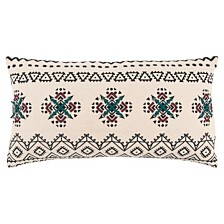 "Rizzy Home 14"" x 26"" Tribal Design Pillow Cover"