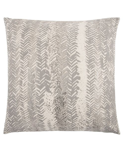 """Rizzy Home 20"""" x 20"""" Vertical Striped Pillow Cover"""
