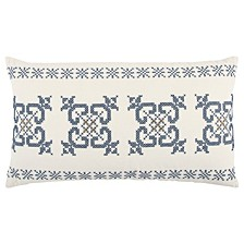 "14"" x 26"" Geometrical Design Pillow Cover"