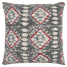 "20"" x 20"" Geometrical Design Pillow Cover"