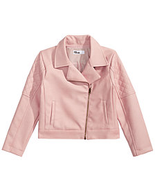 Epic Threads Big Girls Quilted Moto Jacket, Created for Macy's