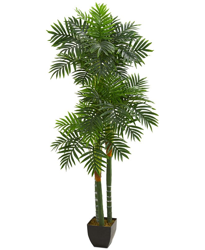 Nearly Natural 5.5' Triple Areca Palm Artificial Tree