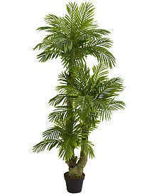 Nearly Natural 5' Triple Phoenix Palm Artificial Tree