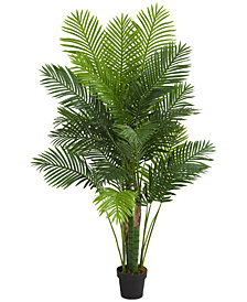 Nearly Natural 6' Hawaii Palm Artificial Tree