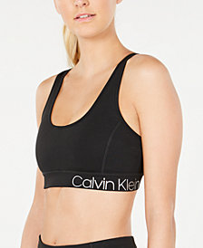 Calvin Klein Performance Strappy-Back Low-Impact Sports Bra