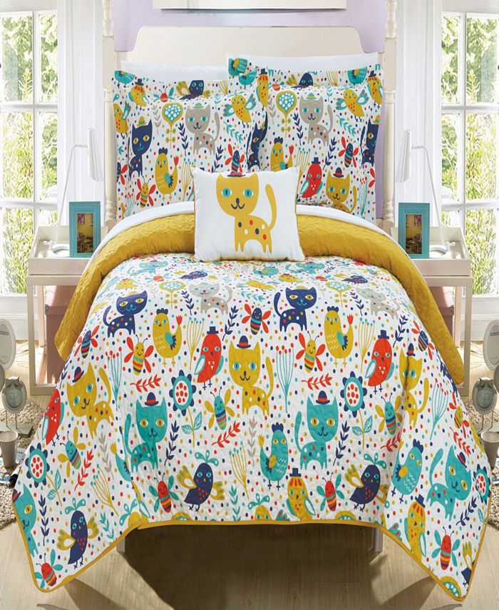 Chic Home - Trixie 4-Pc. Quilt Sets