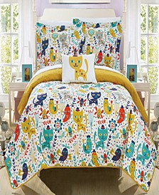 Trixie 3 Piece Twin Quilt Set
