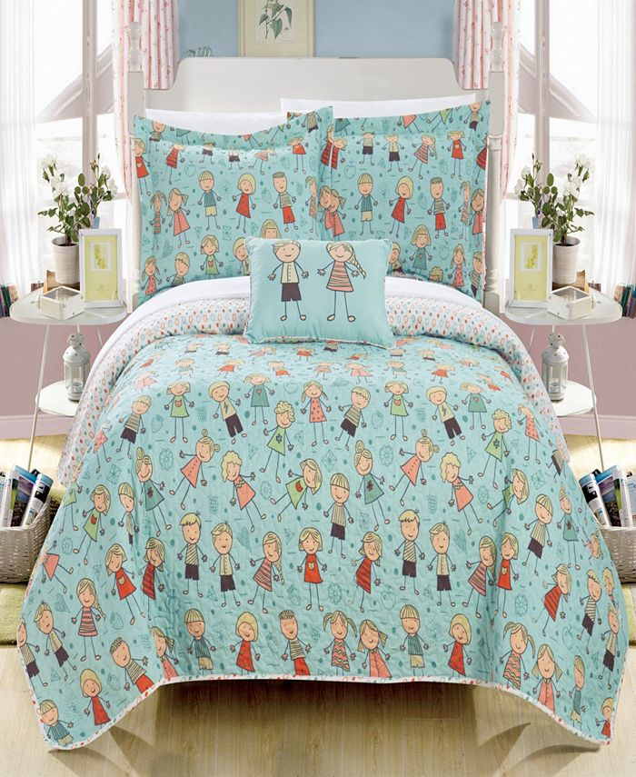 Chic Home - Jacala 4-Pc. Quilt Sets