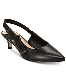Nanette by Rhona Slingback Kitten Heels, Created for Macy's