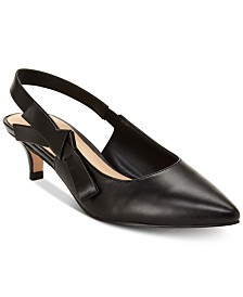 Nanette by Nanette Lepore Rhona Slingback Kitten Heels, Created for Macy's