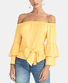 RACHEL Rachel Roy Flo Off-The-Shoulder Top