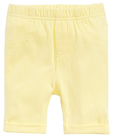 Baby Girls Pull-On Bermuda Shorts, Created for Macy's