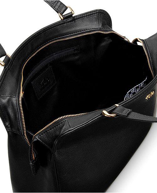 7e968ee8b0f0 tula Nappa Original Ziptop Tote - Handbags   Accessories - Macy s