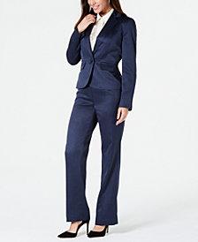 Le Suit Glossy Pant Suit