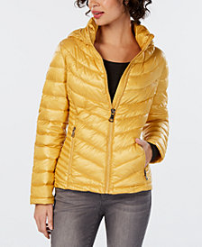 Calvin Klein Hooded Packable Puffer Coat