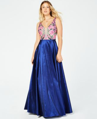 One Sleeve Prom Dresses Macy's