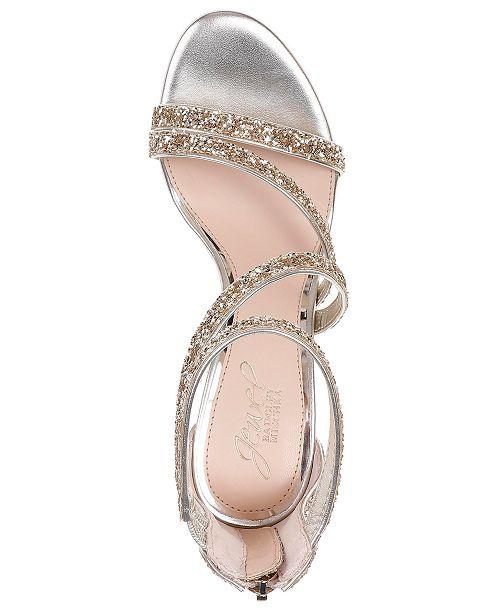 Badgley Dominique Tongs Mischka Sandales Chaussures Jewel Dorees De SoireeAvis XOPZiuk