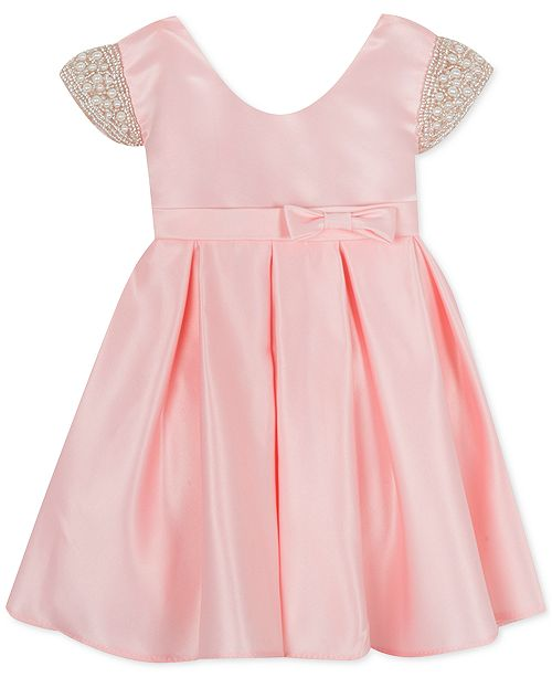 Rare Editions Baby Girls Cap-Sleeve Party Dress