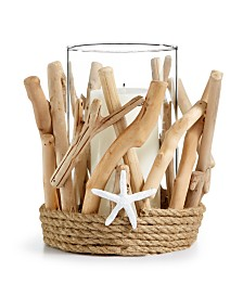 The Cellar Driftwood Hurricane Votive, Created for Macy's