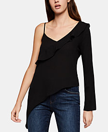 BCBGeneration Asymmetrical One-Shoulder Top