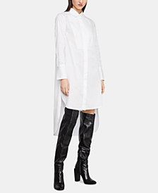 BCBGMAXAZRIA High-Low Shirtdress