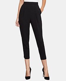 BCBGMAXAZRIA Pleated Ankle Pants