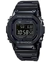 56732fca49ec G-Shock Men s Solar Digital Black Stainless Steel Bracelet Watch 43.2mm