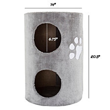 Cat Condo 2 Story Double Hole By Petmaker