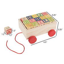 Wooden Blocks Box By Hey Play