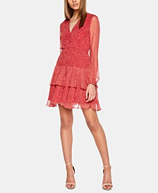 Ditsy Paisley Ruffled Dress