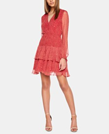 Bardot Ditsy Paisley Ruffled Dress