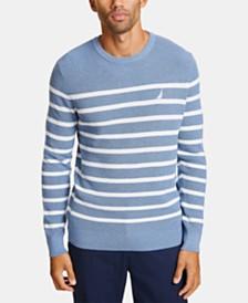 Nautica Men's Breton Striped Sweater