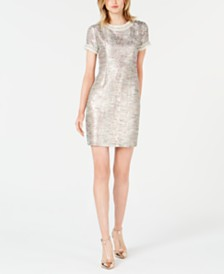 Betsey Johnson Short-Sleeve Lorax Shift Dress
