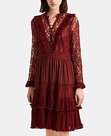 French Connection Clandre Retro Lace Dress