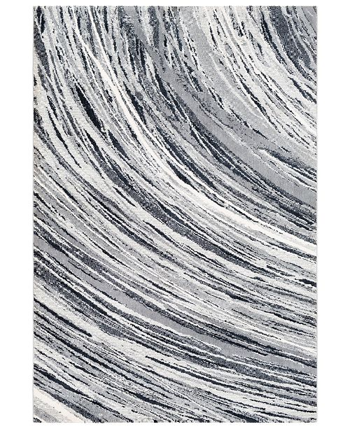 "Surya Apricity APY-1020 Medium Gray 7'6"" x 9'6"" Area Rug"