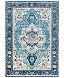 """Aura Silk ASK-2329 Sky Blue 6'7"""" x 9' Area Rug"""