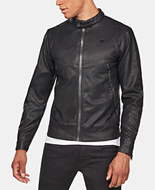 G-Star RAW Men's Motac Deconstructed Biker Jacket, Created for Macy's