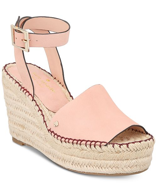 2041f0b5d83e kate spade new york Felipa Espadrille Wedges   Reviews - Sandals ...