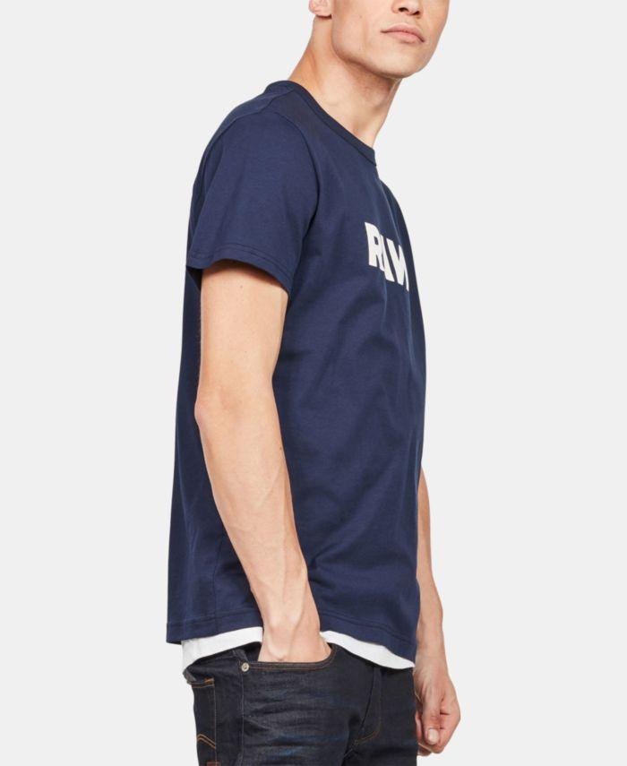 G-Star Raw Men's Holorn RAW Logo T-Shirt & Reviews - T-Shirts - Men - Macy's