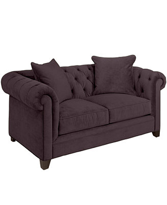 Martha Stewart Collection Saybridge Fabric Loveseat Custom Colors Furnitur