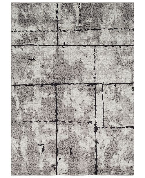 Surya Elaziz ELZ-2325 Medium Gray 2' x 3' Area Rug