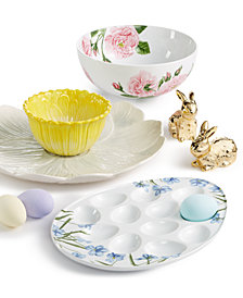 Martha Stewart Collection Easter Serveware Collection, Created for Macy's