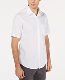 Tasso Elba Men's Inaldo Dobby Shirt, Created for Macy's