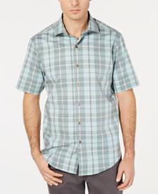 Tasso Elba Men's Prego Plaid Shirt, Created for Macy's