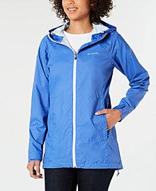 Columbia Long Lined Rain Jacket