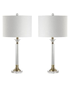Mark Crystal or Metal Led Table Lamp