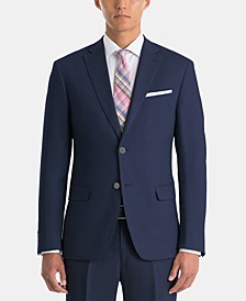 Men's UltraFlex Classic-Fit Navy Linen Sport Coat