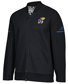 adidas Men's Kansas Jayhawks Squad Bomber Jacket