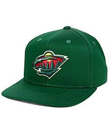 Boys' Minnesota Wild Constant Snapback Cap